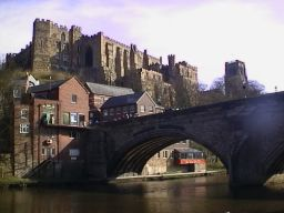 Durham Castle and River
