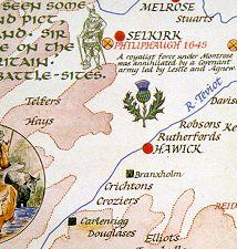 Map Of England King Arthur.Borders Map